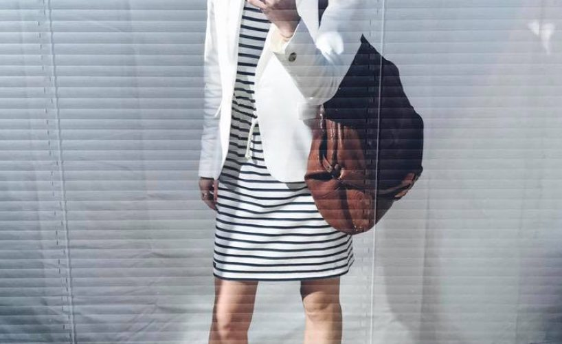 Stripes and heels